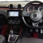 スイフトスポーツの内装・内装色や内寸について(ZC33S)